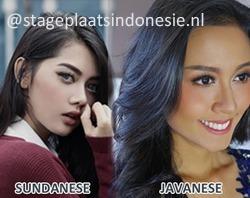 Een van de mooiste dames in Indonesie