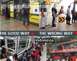 Vreselijke verkeersituaties in Indonesie