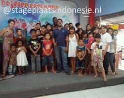 Vrijwilligerswerk / social stage Semarang