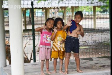 Kampung kinderen in Bantul